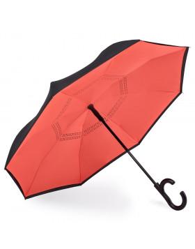Guarda-chuva Invertido Automático Laranja