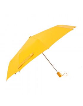 Guarda-chuva Mini Automático Cabo Reto Amarelo | Fazzoletti