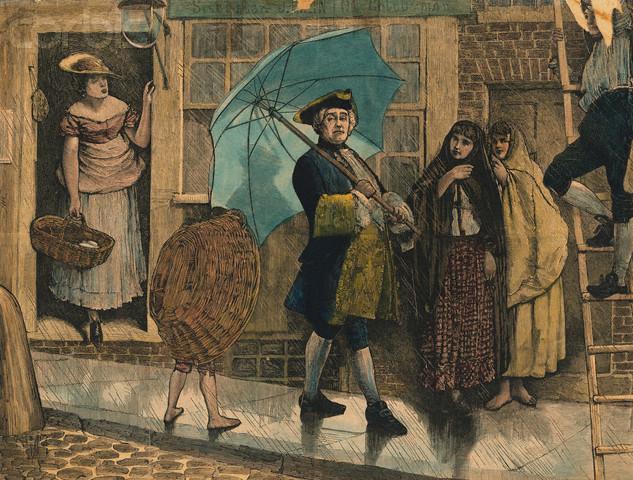 história do guarda-chuva