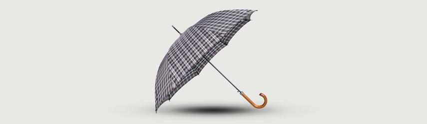 Guarda-chuva Automático Xadrez